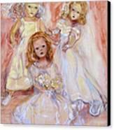 Doll Fancy Canvas Print by Susan Hanlon