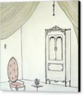 Doll House Interior Canvas Print by Christine Corretti