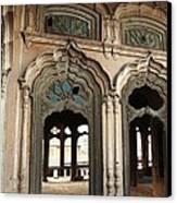 Doors And Windows - Umar Hayat Mahal Canvas Print by Murtaza Humayun Saeed