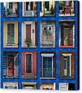 Doors Of New Orleans Canvas Print by Heidi Hermes
