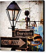 Dorsiere Canvas Print by Ray Devlin