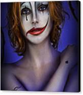 Double Face Canvas Print by Alessandro Della Pietra