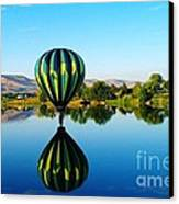 Double Touchdown  Canvas Print by Jeff Swan