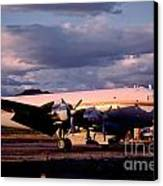 Douglas Dc4 Firefighting Airtanker Canvas Print by Wernher Krutein