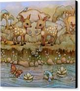 Down By The River Canvas Print by Karin Taylor