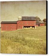 Down On The Farm Canvas Print by Kim Hojnacki