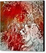 Down The Drain Canvas Print by Gwyn Newcombe