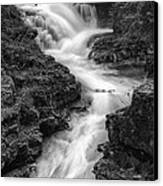 Down The Stream Canvas Print by Jon Glaser