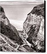 Down To The Sea Canvas Print by Olivier Le Queinec
