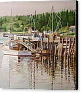 Downeast Reflections Canvas Print