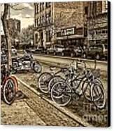 Downtown Coeur D'alene Idaho Canvas Print