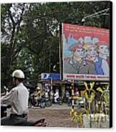 Downtown In Hanoi Canvas Print