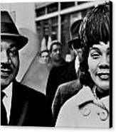 Dr And Mrs King Canvas Print