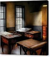 Draftsman - The Drafting Room Canvas Print