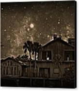 Dragon House Of Decay Canvas Print