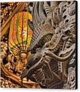 Dragon Canvas Print by Karen Walzer