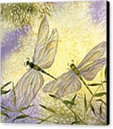 Dragonflies Canvas Print