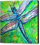 Dragonfly Spring Canvas Print