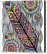 Dream Feather Canvas Print