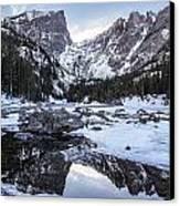 Dream Lake Reflection Canvas Print