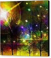 Dream Time In The Park Canvas Print by Sydne Archambault