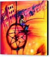 Dreamcatcher Canvas Print by Ruben Santos