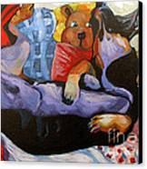 Dreamland Canvas Print by Charlie Spear