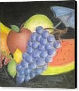 Dreamy Fruit Canvas Print