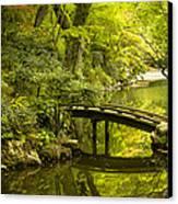 Dreamy Japanese Garden Canvas Print by Sebastian Musial
