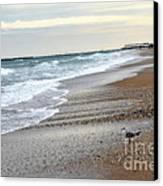 Dreamy Ocean Beach North Carolina Coastal Beach  Canvas Print by Kathy Fornal