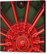 Drive Wheel Canvas Print by Paul W Faust -  Impressions of Light