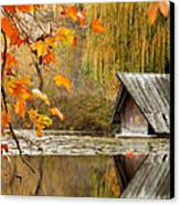 Duck's House Canvas Print by Evgeni Dinev