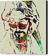 Dude Canvas Print by Naxart Studio