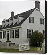 Dudley Diggs House Yorktown Canvas Print
