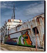 Duke Of Graffiti Canvas Print by Adrian Evans