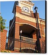 Duluth Clock Tower Canvas Print by Cheryl Hardt Art
