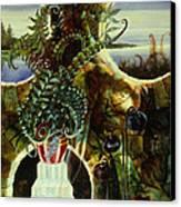 Duluth Garden Canvas Print