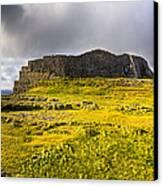 Dun Aonghasa - Iron Age Irish Ruins Canvas Print by Mark E Tisdale