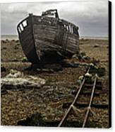 Dungeness Canvas Print by Lesley Rigg