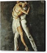 Duo Dance Canvas Print by Podi Lawrence
