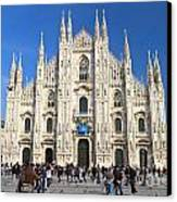 Duomo In Milano. Italy Canvas Print by Antonio Scarpi
