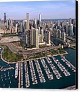 Dusable Harbor Chicago Canvas Print