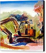 Duty Dozer II Canvas Print by Kip DeVore