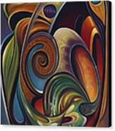 Dynamic Series #16 Canvas Print by Ricardo Chavez-Mendez