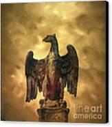 Eagle Sculpture Canvas Print by Bernard Jaubert