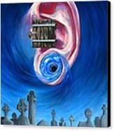 Ear To Hear Canvas Print