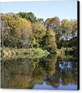 Early Fall In Uw Arboretum Canvas Print