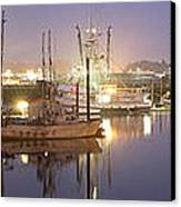 Early Morning Harbor II Canvas Print by Jon Glaser