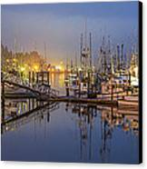 Early Morning Harbor Canvas Print