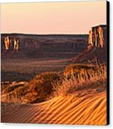 Early Morning In Monument Valley Canvas Print